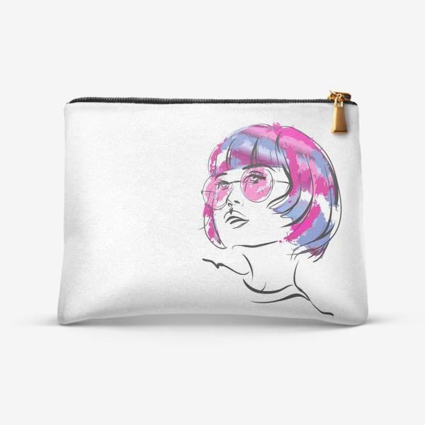 Косметичка «Lollipop   Color hair   Fashion cкетч»