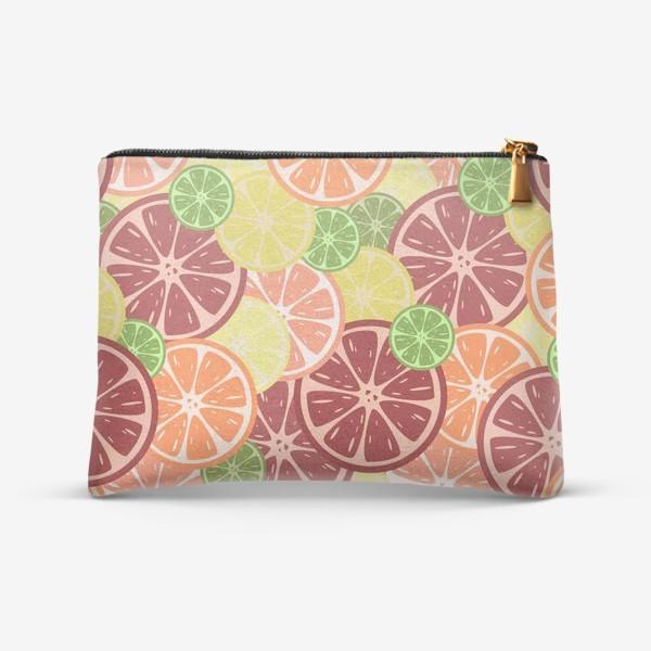 Косметичка «Citrus pattern»