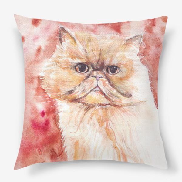 Подушка «Персидский кот»