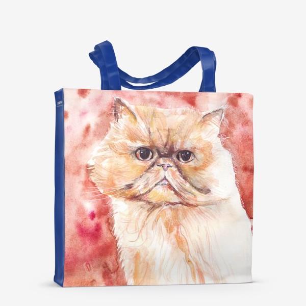 Сумка-шоппер «Персидский кот»