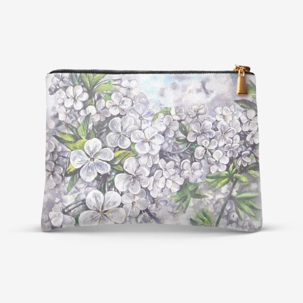 Косметичка «белая вишня в цвету»
