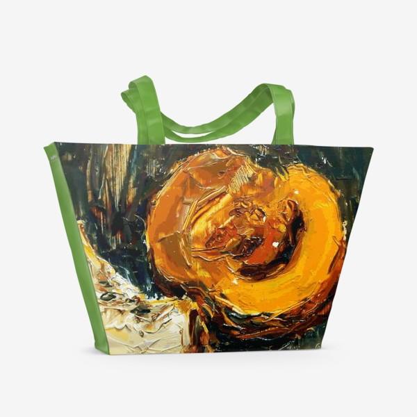 Пляжная сумка «Тыква»