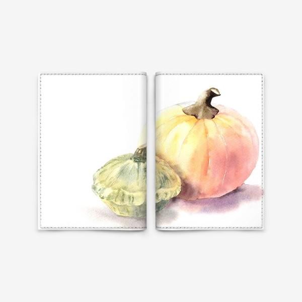Обложка для паспорта «Тыква»