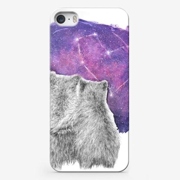 Чехол iPhone «Влюбленная парочка. Мишки»