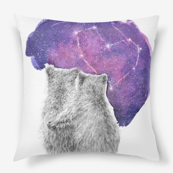 Подушка «Влюбленная парочка. Мишки»