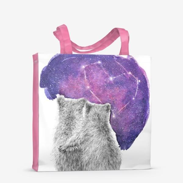 Сумка-шоппер «Влюбленная парочка. Мишки»
