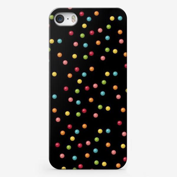 Чехол iPhone «Конфетки-конфетти»