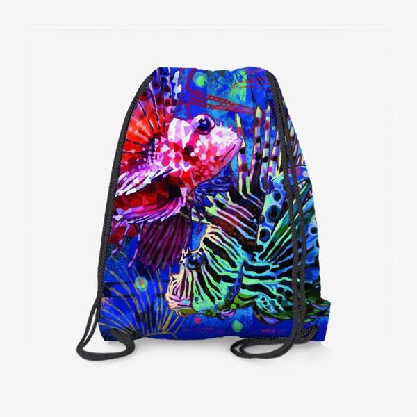 Рюкзак «Рыбы знак зодиака»