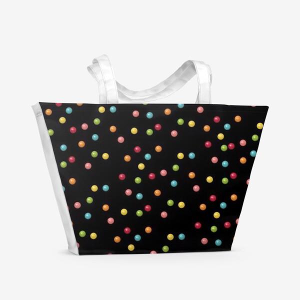 Пляжная сумка «Конфетки-конфетти»