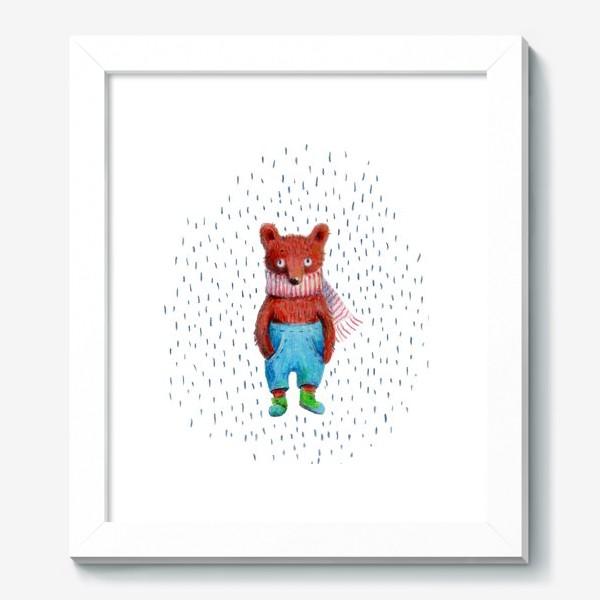 Картина «Медведь в голубых штанах»