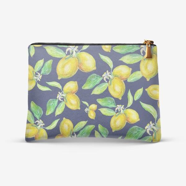 Косметичка «лимонное настроение»