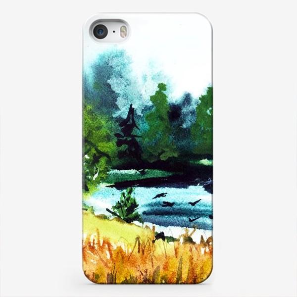 Чехол iPhone «Июльская жара»