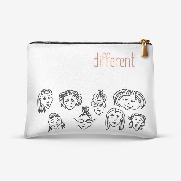 Косметичка «Different | женщины»