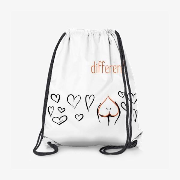Рюкзак «Different | Сердца»
