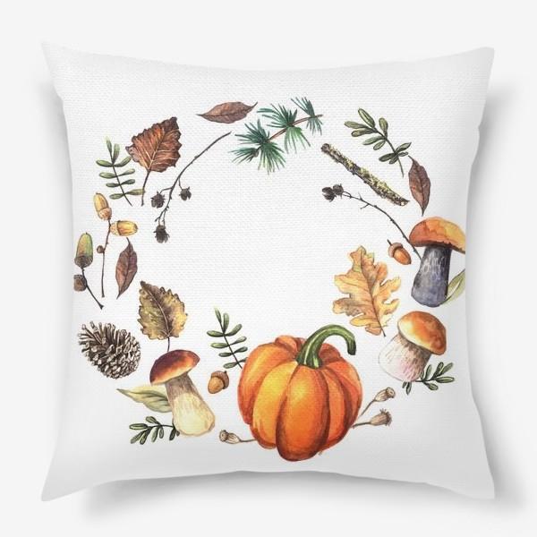 Подушка «Осень»