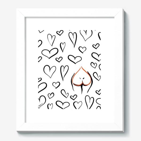 Картина «Different | Сердца паттерн»
