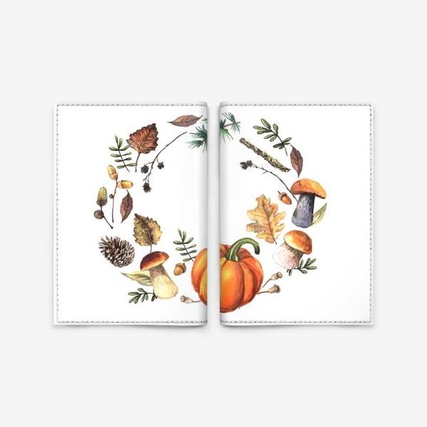 Обложка для паспорта «Осень»
