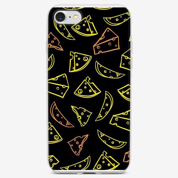 Чехол iPhone «сыр»