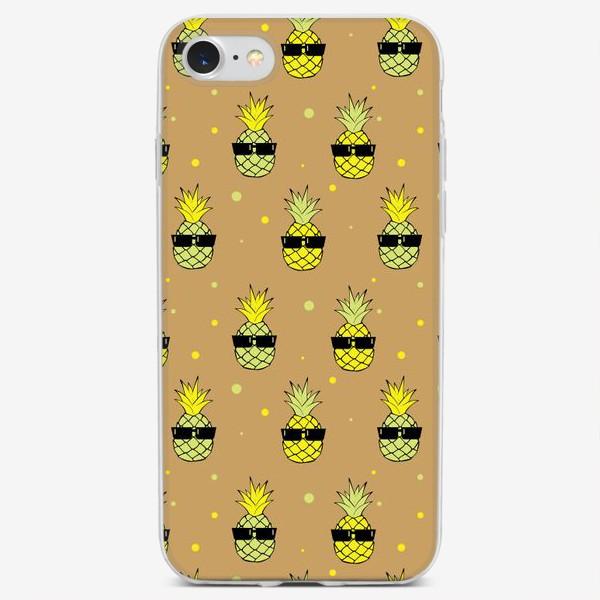 Чехол iPhone «Ананас»