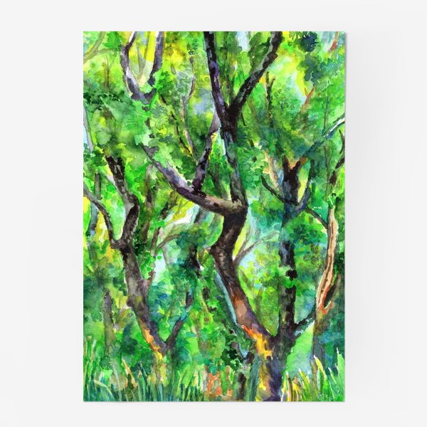 Постер «лес»