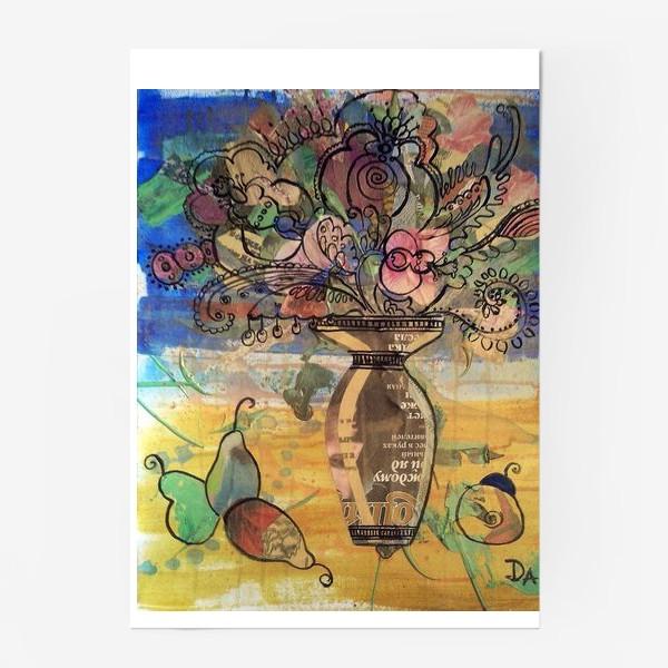 Постер « натюрморт с грушами»