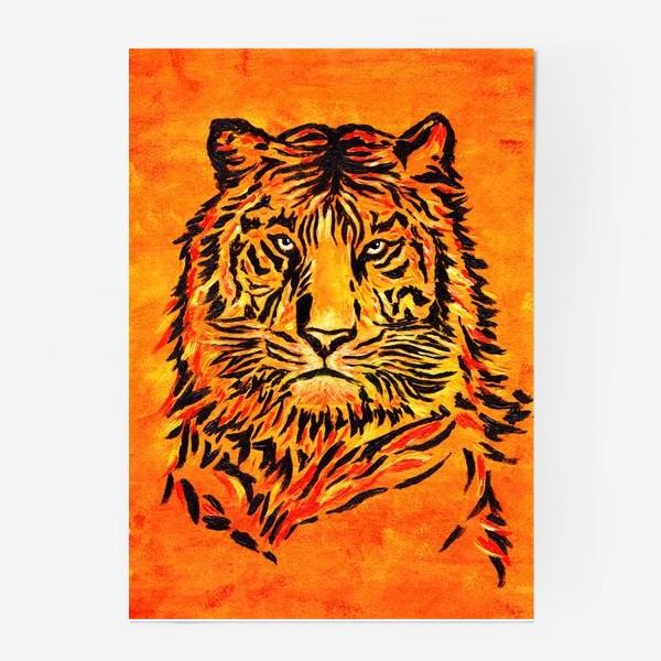 Постер «Мудрый тигр »