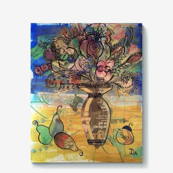 Холст « натюрморт с грушами»