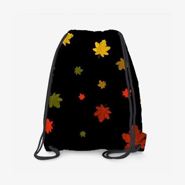 Рюкзак «кленовые листья»