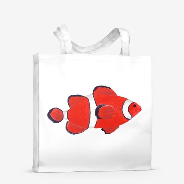Сумка-шоппер «Рыба клоун из моря»