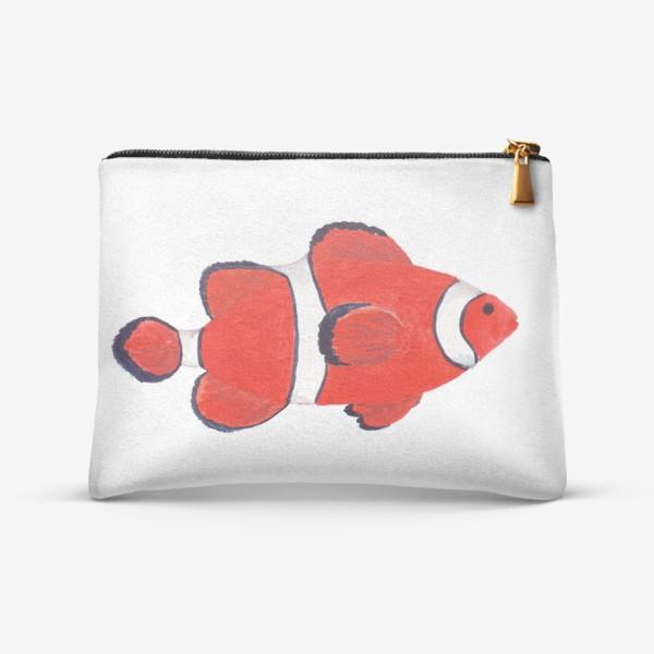 Косметичка «Рыба клоун из моря»