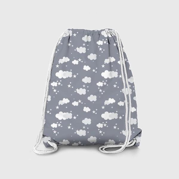 Рюкзак «Облака серый»