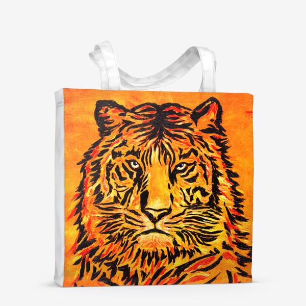 Сумка-шоппер «Мудрый тигр »