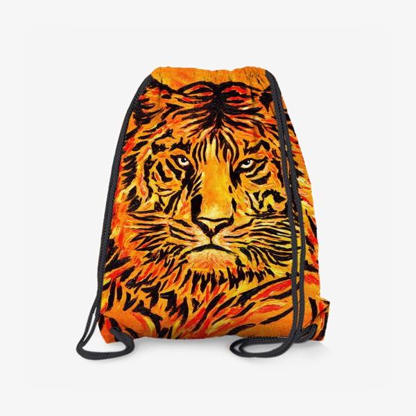 Рюкзак «Мудрый тигр »