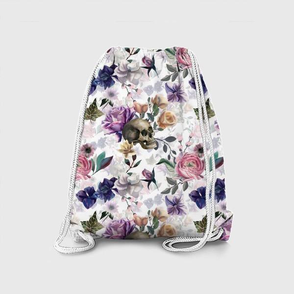 Рюкзак «Dusk garden. White»