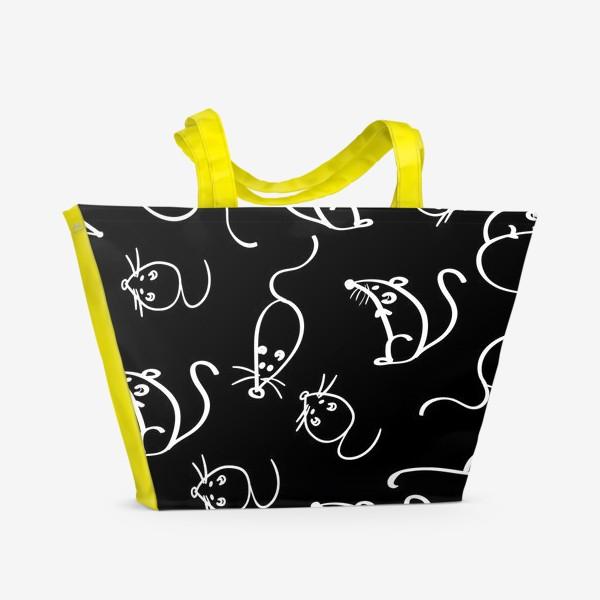 Пляжная сумка «мышки»