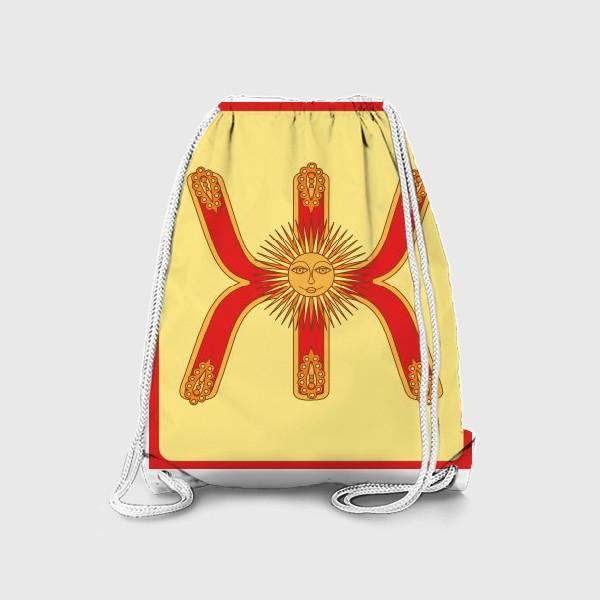 Рюкзак «Буква Ж в старорусском стиле»