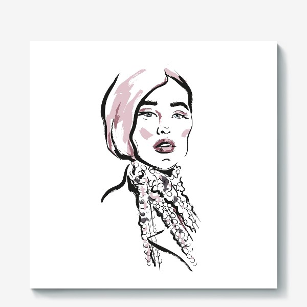 Холст «Fashion | Девушка 2»
