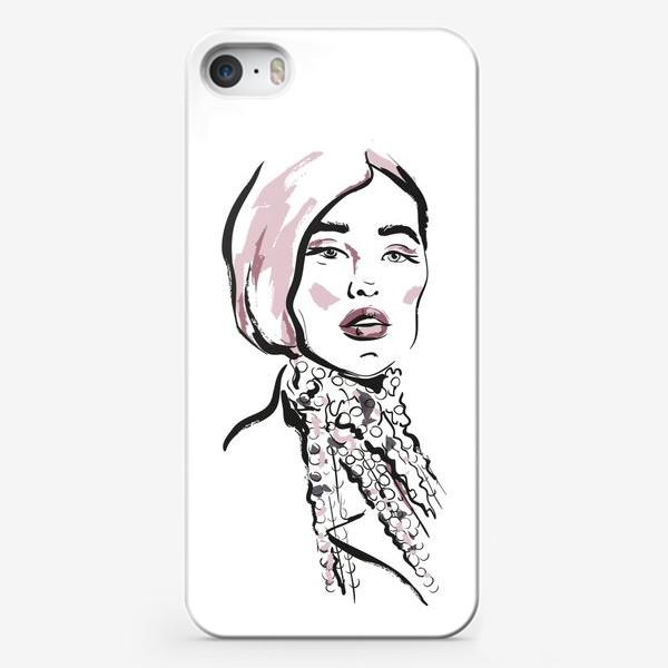 Чехол iPhone «Fashion | Девушка 2»