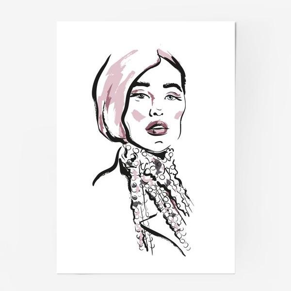 Постер «Fashion   Девушка 2»