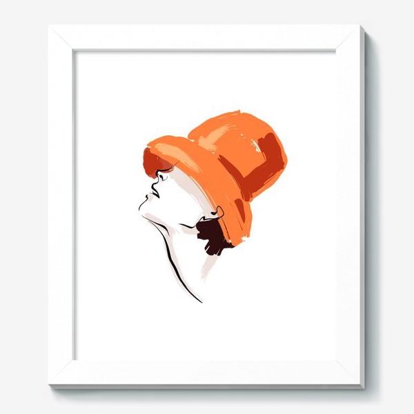 Картина «Fashion | Девушка в шляпе»