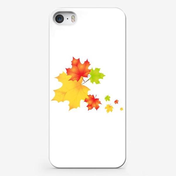 Чехол iPhone «Кленовые листья»
