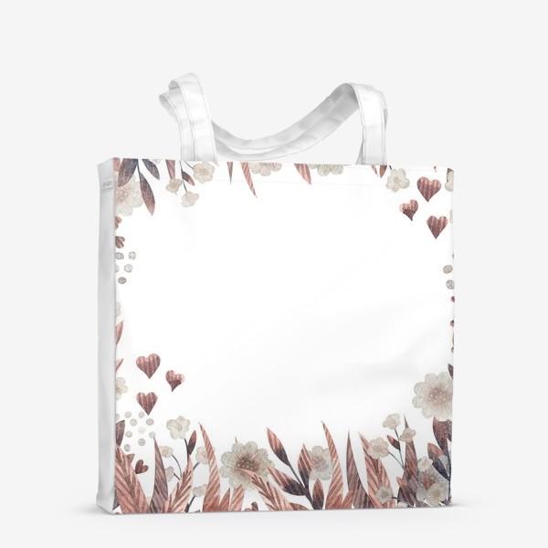 Сумка-шоппер «Осенние цветы»