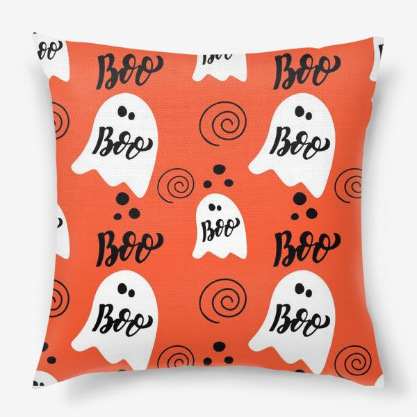 Подушка «Хэллоуин: приведения. Boo, halloween»