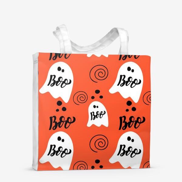 Сумка-шоппер «Хэллоуин: приведения. Boo, halloween»