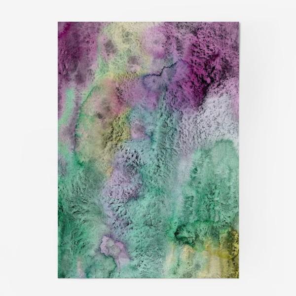 Постер «Акварельная абстракция в стиле гранж»