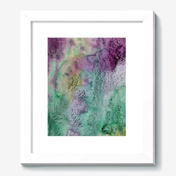 Картина «Акварельная абстракция в стиле гранж»
