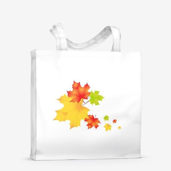Сумка-шоппер «Кленовые листья»