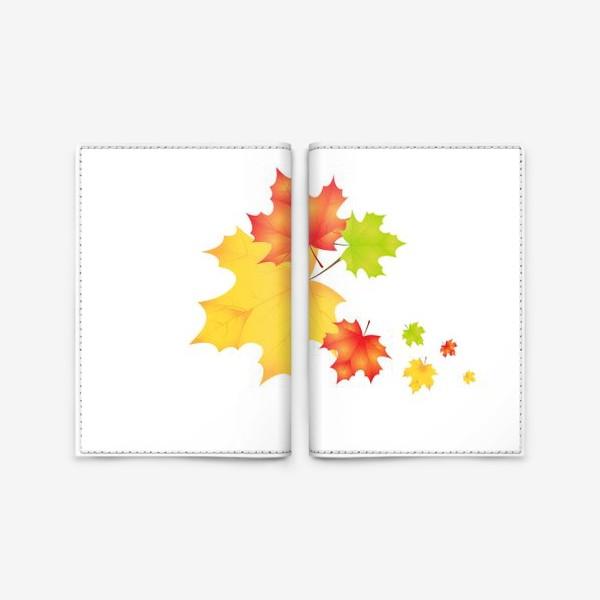 Обложка для паспорта «Кленовые листья»