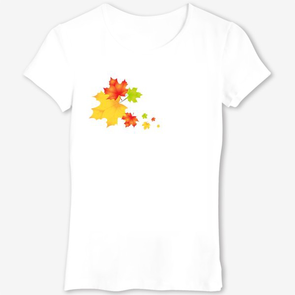 Футболка «Кленовые листья»
