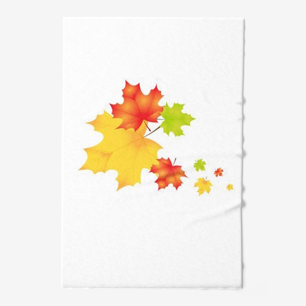 Полотенце «Кленовые листья»